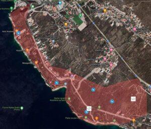 karta sa snimljenom divljaci